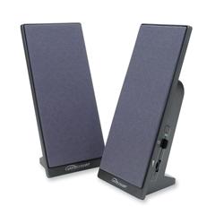 Compucessory 2.0 Speaker System - 3 W RMS - Black - 120 Hz - 18 kHz