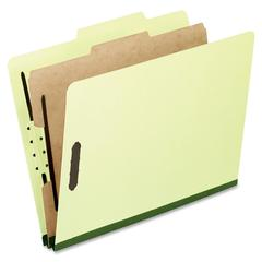 "Pendaflex Legal Size Classification Folder - Legal - 8 1/2"" x 14"" Sheet Size - 2"" Expansion - 4 Fastener(s) - 2"" Fastener Capacity for Folder, 1"" Fastener Capacity for Divider - 2/5 Tab Cut - Right Ta"