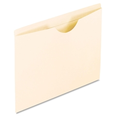 "Pendaflex Reinforced File Jacket - Legal - 8 1/2"" x 14"" Sheet Size - 11 pt. Folder Thickness - Manila - Manila - 100 / Box"