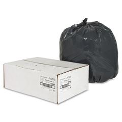 "Nature Saver Black Low-density Recycled Can Liners - Small Size - 16 gal - 24"" Width x 33"" Length x 0.85 mil (22 Micron) Thickness - Low Density - Black - Plastic - 500/Carton - Cleaning Supplies"