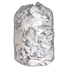 "Genuine Joe Clear Trash Can Liners - Extra Large Size - 60 gal - 38"" Width x 58"" Length x 0.80 mil (20 Micron) Thickness - Low Density - Clear - Film - 100/Carton - Multipurpose"