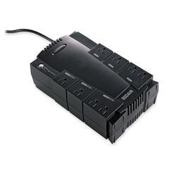 Compucessory 8-Outlet UPS Backup System - 800 VA/450 W - 120 V AC - 8 Receptacle(s) - Surge, Spike, Sag, Brownout