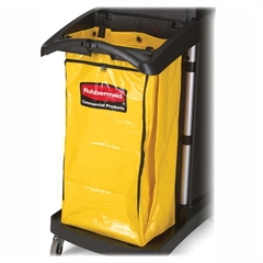 """Rubbermaid High Capacity Replacement Bag - 34 gal - 10.50"""" Width x 17.50"""" Length x 33"""" Depth - Yellow - Vinyl - 1Each - Cleaning Supplies"""