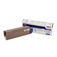 Oki Cyan Toner Cartridge - Laser - 6000 Pages - 1 Each