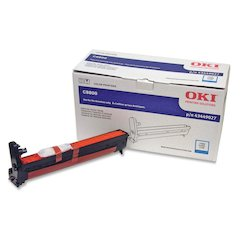 Oki Cyan Image Drum For C8800 Series Printers - 20000 Page - 1 Each