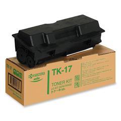 Kyocera TK-17 Black Toner - Laser - 6000 Page - 1 Each