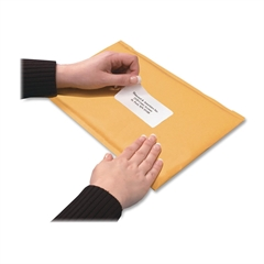 "Quality Park Redi-Strip Bubble Mailer - Bubble - 7.50"" Width x 9.50"" Length - Peel & Seal - 10 / Box - Kraft"