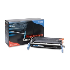 IBM Remanufactured Toner Cartridge - Alternative for HP 641A (C9720A) - Black - Laser - 9000 Page - 1 Each