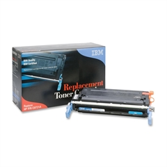 IBM Remanufactured Toner Cartridge - Alternative for HP 641A (C9721A) - Cyan - Laser - 8000 Pages - 1 Each