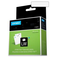 "Dymo File Document Management Labels - 0.75"" Width x 2.50"" Length - 450 / Roll - Direct Thermal - White - 450 / Roll"