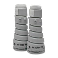Konica Minolta Black Toner Bottle - Laser - Black - 12000 Pages - 2 / Box