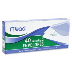 "Business Envelop - Business - #10 - 9.50"" Width x 4.12"" Length - 20 lb - Gummed - Wove - 40 / Box - White"