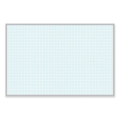 "Magna Visual Planning Board - 72"" (6 ft) Width x 48"" (4 ft) Height - White Porcelain Surface - Aluminum Frame - 1 Each"