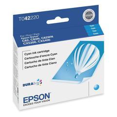 Epson Cyan Ink Cartridge - Inkjet - 420 Page - 1 Each