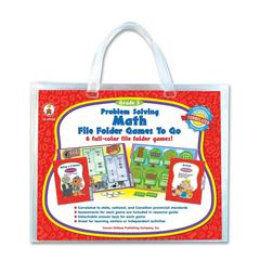 Carson-Dellosa Problem Solving Math Game - Theme/Subject: Learning - Skill Learning: Mathematics