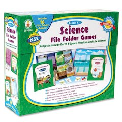 Carson-Dellosa Science File Folder Games - Theme/Subject: Learning - Skill Learning: Science