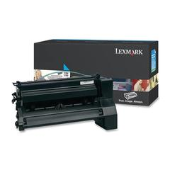 Lexmark XL Extra High Yield Return Program XL Cyan Toner Cartridge - Laser - 16500 Page - 1 Each