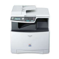 Panasonic Laser Multifunction Printer - Color - Plain Paper Print - Desktop - Copier/Fax/Printer/Scanner - 21 ppm Mono/21 ppm Color Print - 1200 x 1200 dpi Print - 21 cpm Mono/21 cpm Color Copy - Auto