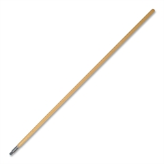 "Genuine Joe Floor Broom Handle - 60"" Length - Oak - Wood"