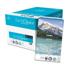 "Domtar EarthChoice Office Paper - Legal - 8.50"" x 14"" - 20 lb Basis Weight - 5000 / Carton - White"