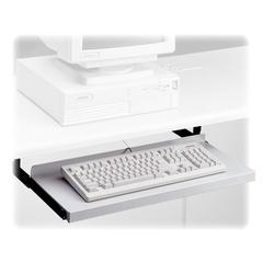 "HON Non-articulating Keyboard Platform - 24"" Width x 10"" Depth - Black"