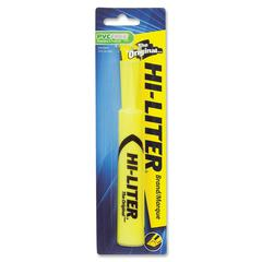 Avery Hi-Liter Desk Style Highlighters - Chisel Point Style - Fluorescent Yellow - 1 Each