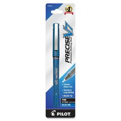 PRECISE Precise-V Nonrefillable Pens - Fine Point Type - 0.7 mm Point Size - Blue - 1 / Pack