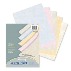 "Pacon Array Bond Paper - Letter - 8.50"" x 11"" - 24 lb Basis Weight - Recycled - 10% Recycled Content - 100 / Pack - Parchment"