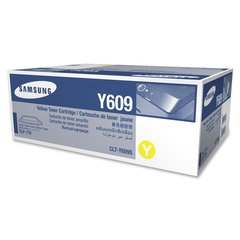 Samsung CLT-Y609S Toner Cartridge - Laser - Standard Yield - 7000 Pages - Yellow - 1 Each