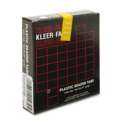 "Kleer-Fax 1/3 Cut Hanging Folder Tabs - 25 Tab(s)3.50"" Tab Width - Yellow Tab(s) - 25 / Pack"