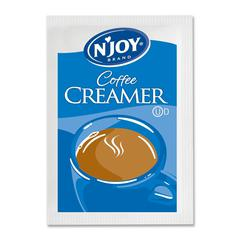 Njoy N'Joy Nondairy Creamer Packets - 0 lb (0.1 oz) - 1000/Box