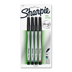 Sharpie Permanent Marker - Fine Point Type - Assorted