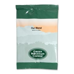 Green Mountain Coffee Roasters Our Blend Coffee - Regular - Light/Mild - 100 / Carton