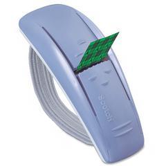 """Scotch Pop-up Tape Refillable Handband Dispenser - 0.75"""" Width x 2"""" Length - Dispenser Included - 1 Each - Matte Silver"""