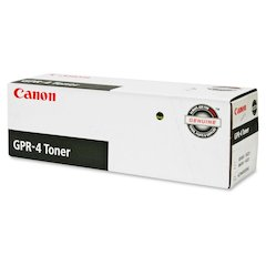 Canon GPR-4 Black Toner Cartridge - Laser - Standard Yield - 33000 Page - 1 / Each