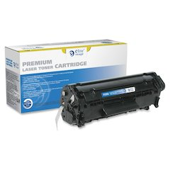 Elite Image Remanufactured MICR Toner Cartridge Alternative For HP 12A (Q2612A) - Laser - 2000 Page - 1 Each