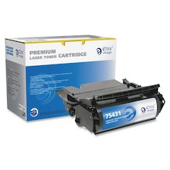 Elite Image Remanufactured MICR Toner Cartridge - Alternative for Lexmark (12A7362) - Black - Laser - 21000 Page - 1 Each