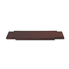 "Mayline Straight Connecting Table - Rectangle - 20"" x 18.50"" - Hardwood - Sierra Cherry"