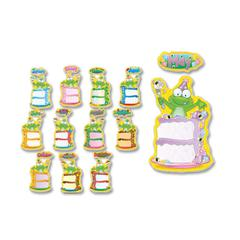 "Carson-Dellosa Birthday Frog Bulletin Board Decoration Set - 10.25"" Height x 15.25"" Width - 1 Pack"