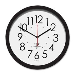 Contemporary SelfSet Wall Clock - Analog - Quartz