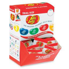 Jelly Belly Trial Size Gourmet Jelly Bean - Assorted - Low Fat, Individually Wrapped - 0.35 oz - 80 / Box