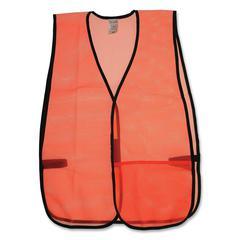 OccuNomix General Purpose Safety Vest - Mesh - Orange - 1 Each