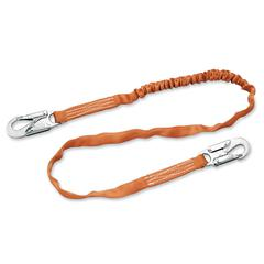 Sperian Titan Tubular Shock-Absorbing Lanyard - Shock Absorbing, Locking System