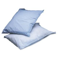 "Medline Poly Tissue Disposable Pillowcases - 21"" x 30"""