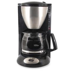 Coffee Pro Euro Style Coffeemaker - 12 Cup(s) - Black