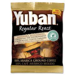 Yuban 100% Arabica Ground Coffee Ground - Regular - 1.1 oz - 42 / Carton