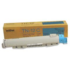 12C Cyan Toner Cartridge - Laser - 6000 Page - 1 Each