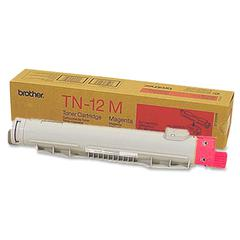 Brother 12M Magenta Toner Cartridge - Laser - 6000 Pages - 1 Each