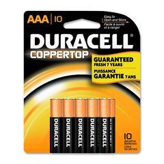 CopperTop MN1500B10Z Alkaline AAA Battery - AAA - Alkaline - 1.5 V DC - 10 / Pack