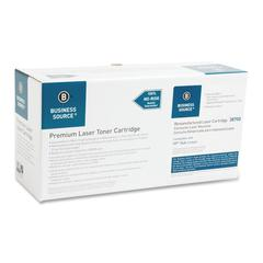 Business Source Remanufactured Toner Cartridge Alternative For HP 06A (C3906A) - Black - Laser - 2500 Page - 1 Each